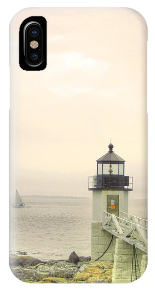 Marshall Point Lighthouse In Maine IPhone Case