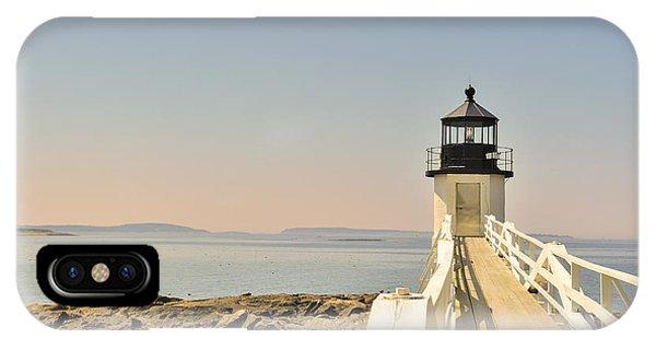 Marshall Point Lighthouse Maine IPhone Case