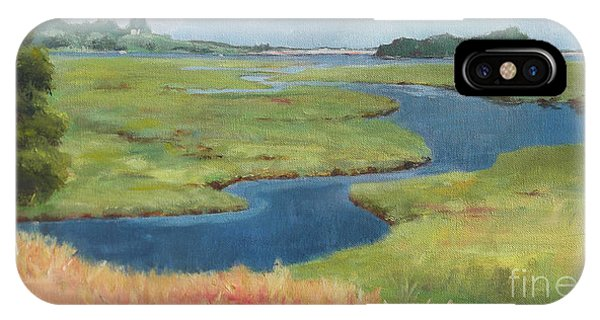 Marshes At High Tide IPhone Case