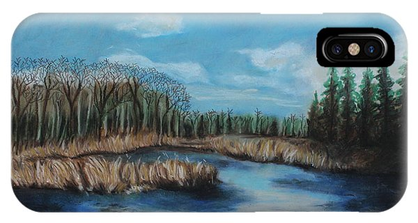 Marshland 1 IPhone Case