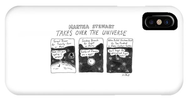 Martha Stewart  Takes Over The Universe IPhone Case