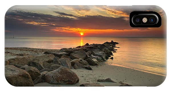 Marthas Vineyard Sunrise IPhone Case