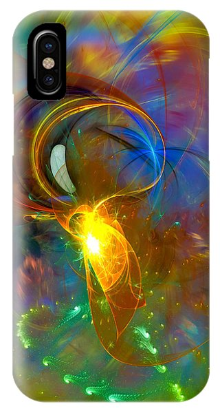 Martian Dance - Cool Alien Art IPhone Case