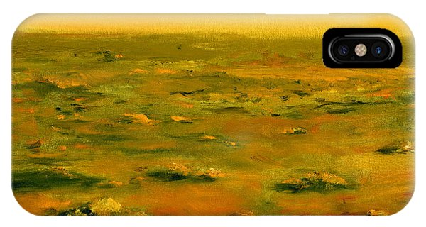 Martian Desert Landscape Art  IPhone Case