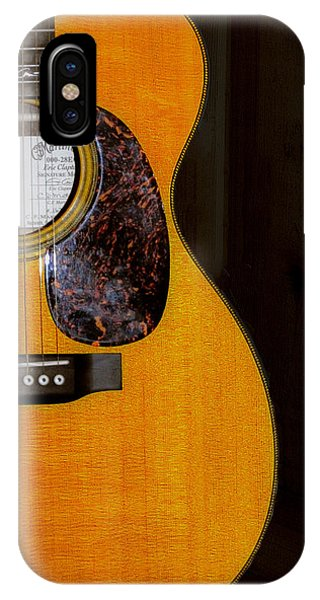 Eric Clapton iPhone Case - Martin Guitar  by Bill Cannon