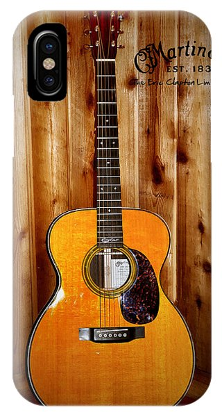 iPhone Case - Martin Guitar - The Eric Clapton Limited Edition by Bill Cannon