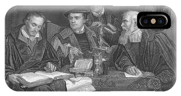 Martin Luther  The German Religious Phone Case by Mary Evans Picture Library