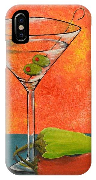 Martini And Pepper IPhone Case