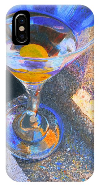 IPhone Case featuring the photograph Martini by David Phoenix