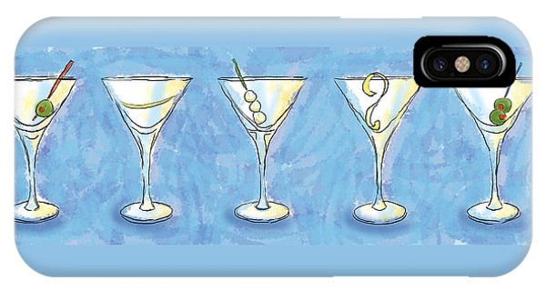 Martini Lunch IPhone Case