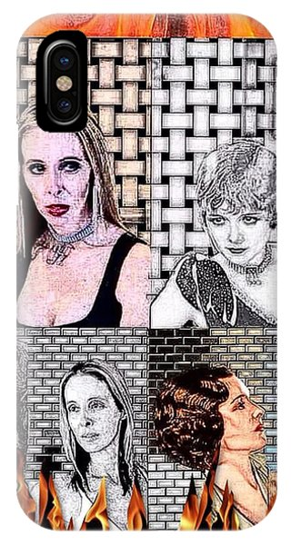Good Humor iPhone Case - Mary Astor And I  by Lisa Piper