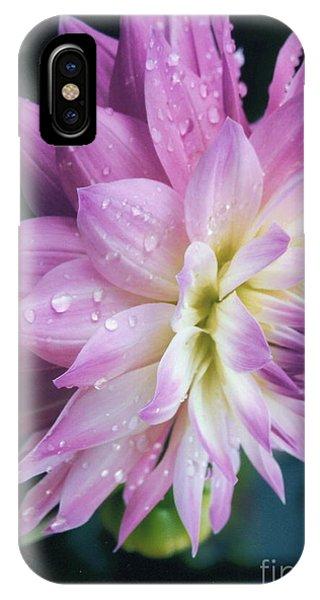 Mary Ellen's Morning Dew Dahlia IPhone Case