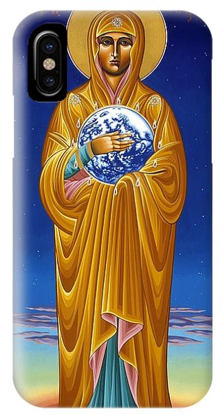 Mary Most Holy Mother Of All Nations 080 IPhone Case