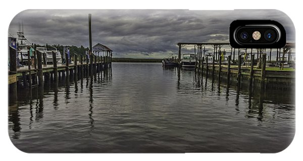 Mary Walker Marina - Stormy Skies IPhone Case