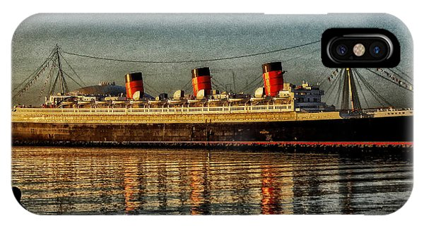 Mary Watches The Queenmary IPhone Case
