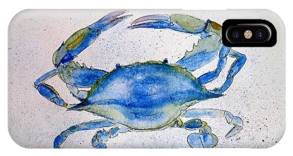 Maryland Blue Crab  IPhone Case