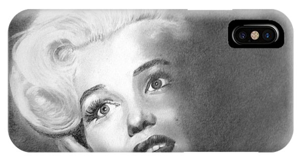 Marilyn- In The Shadows IPhone Case