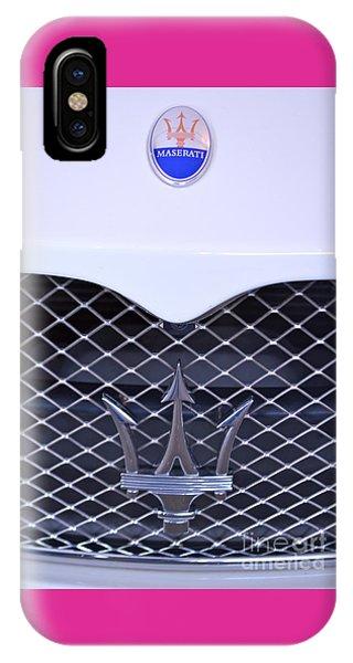 Maserati Emblems IPhone Case
