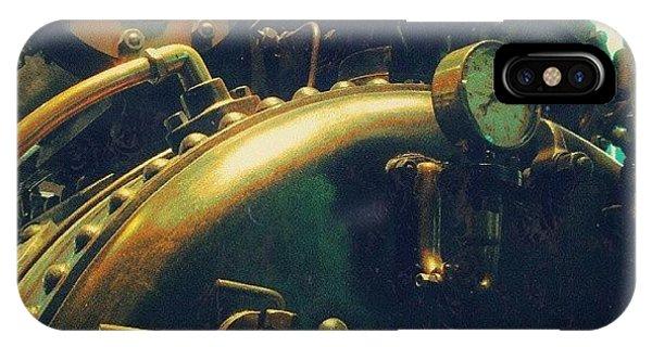 Steampunk iPhone Case - #mashines ... #steamengine #engine by Alexandra Cook