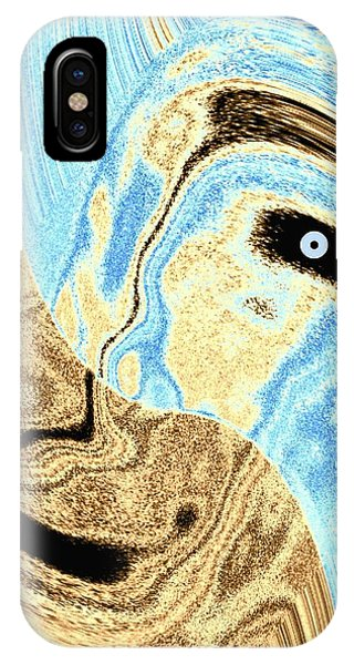 Masked- Man Abstract IPhone Case