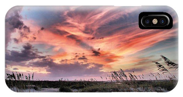 Masonboro Inlet September Sunset IPhone Case