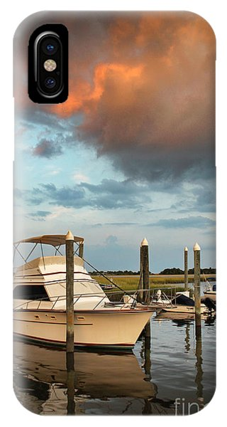 Masonboro Sunset #2 IPhone Case