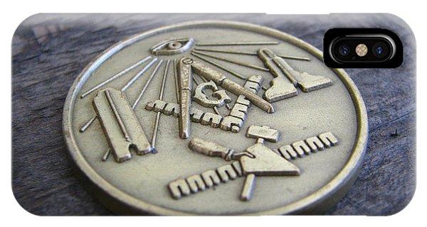 Masonic Medal IPhone Case