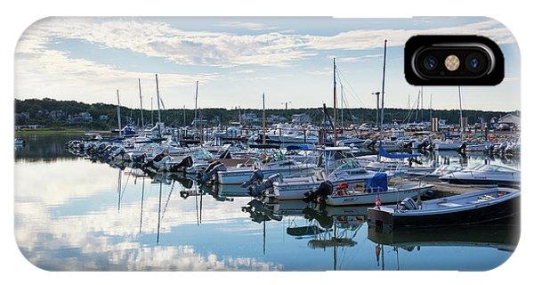 Cape Cod iPhone Case - Massachusetts, Cape Cod, Wellfleet by Walter Bibikow