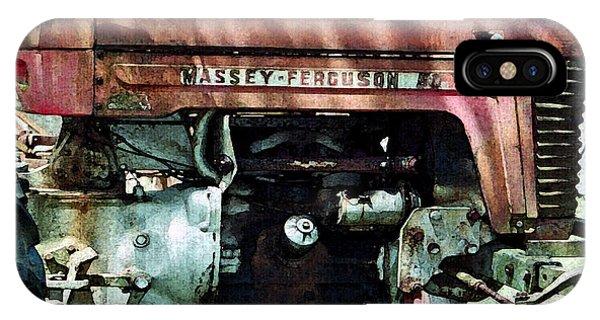 Massey-ferguson IPhone Case