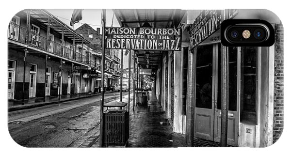 Maison Bourbon Jazz Club 2 IPhone Case