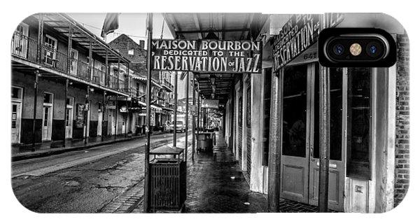 Maison Bourbon Jazz Club 2 IPhone Case