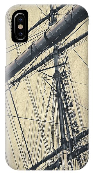 Mast And Rigging Postcard IPhone Case