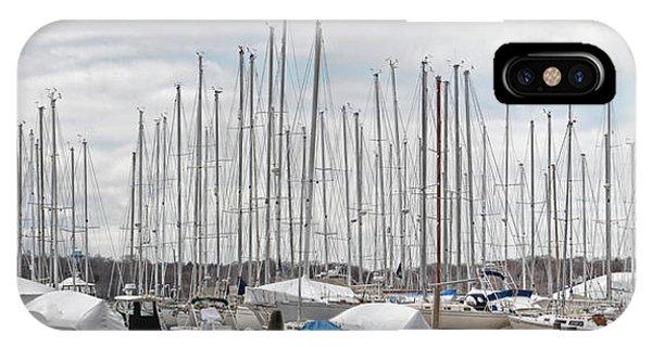 Glen Cove Mast Appeal IPhone Case