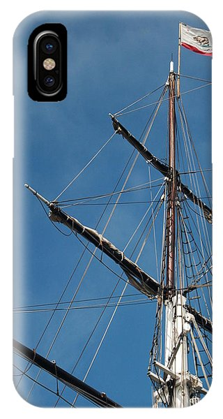 Mast Phone Case by Jean Booth