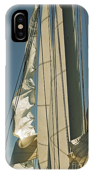 IPhone Case featuring the photograph Mast Stepping by Jani Freimann