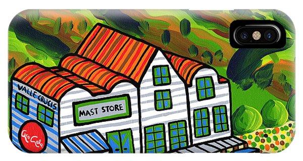 Mast Store Valle Crucis North Carolina IPhone Case