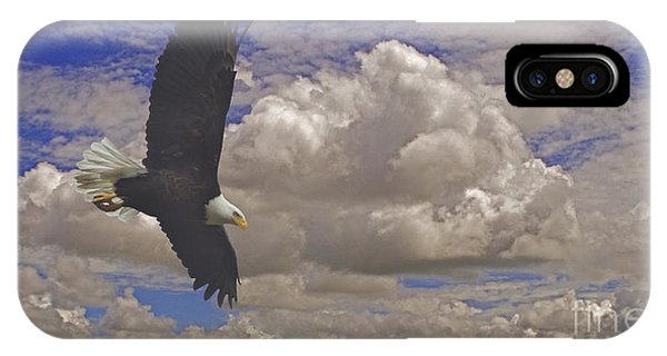 Master In Flight - Signed  IPhone Case