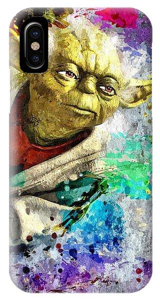 Master Yoda IPhone Case
