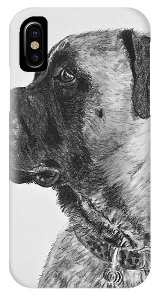 Mastiff In Profile IPhone Case