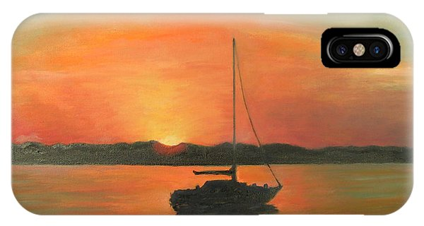Matanzas Bay Sunrise IPhone Case