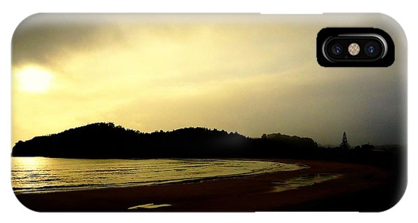 Matapouri At Sunrise IPhone Case