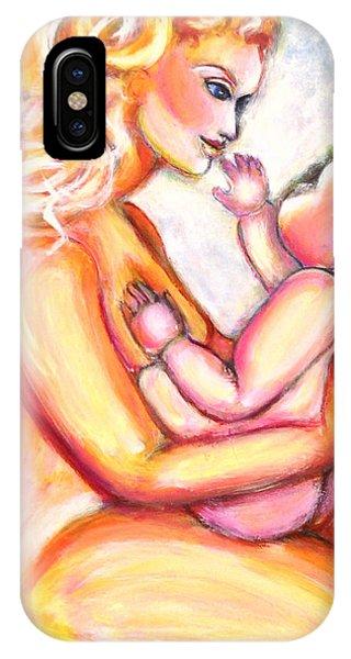 Maternal Bliss IPhone Case