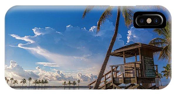 Matheson Hammock Park Atoll IPhone Case