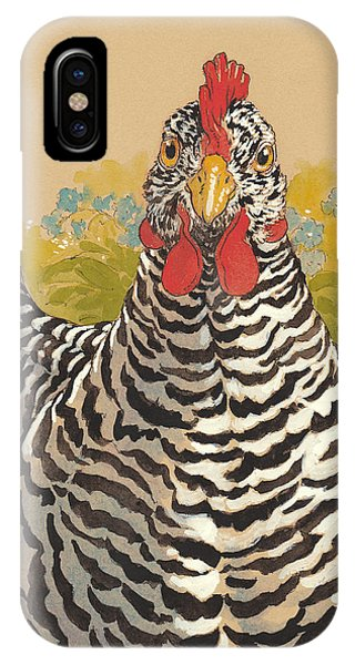 Barnyard iPhone Case - Matilda In The Forget-me-nots by Tracie Thompson