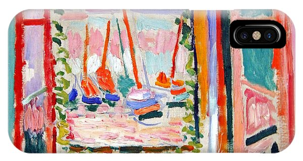 Matisse's Open Window At Collioure IPhone Case