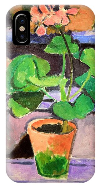 Matisse's Pot Of Geraniums IPhone Case