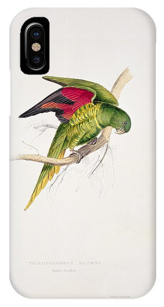 Matons Parakeet IPhone Case