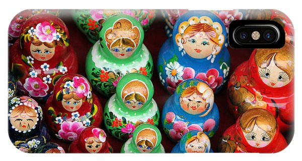 Matryoshka Dolls IPhone Case