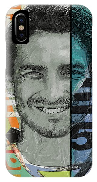 Cristiano Ronaldo iPhone Case - Mats Hummels - B by Corporate Art Task Force