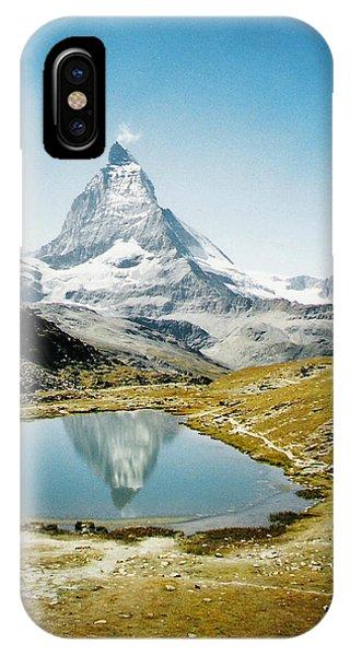 Matterhorn Cervin Reflection IPhone Case